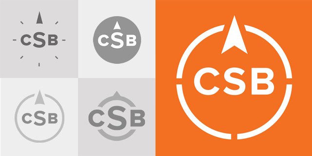 "A Peek Behind the Process: The CSB ""True North"" Logo"