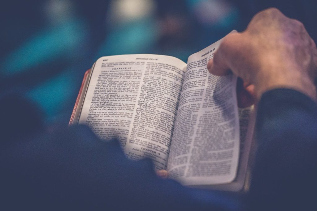 Image result for pastor and bible