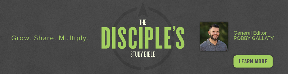 Introducing the CSB Disciple's Study Bible