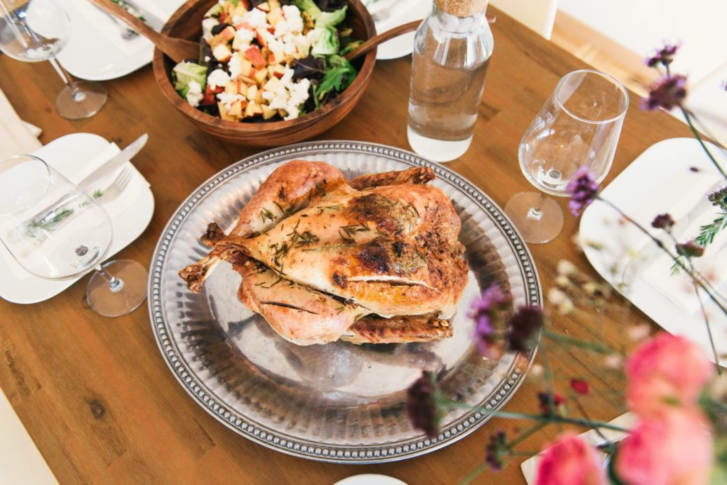 Your Thanksgiving Dinner Declares Christ's Triumph