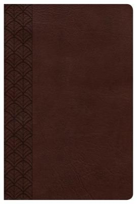CSB Study Bible For Women, Chocolate LeatherTouch, Indexed