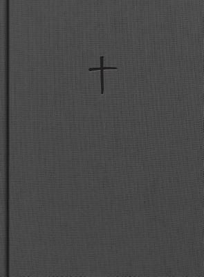 CSB Apologetics Study Bible, Charcoal Cloth Over Board
